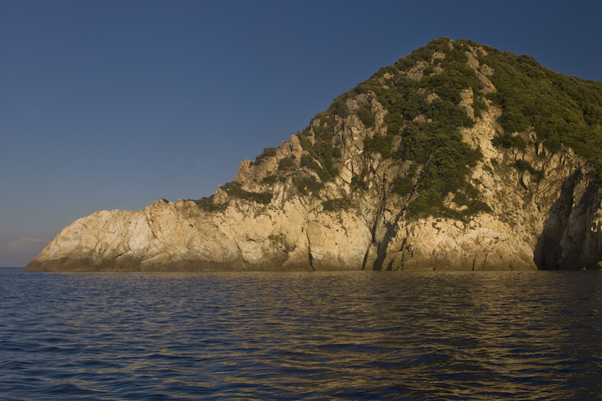 immersione madonna di ponente isola d' elba