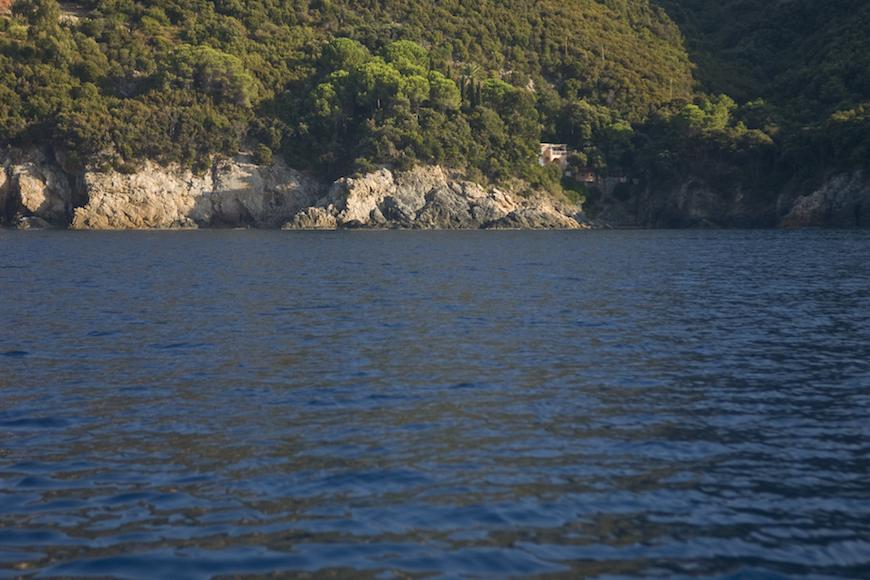 immersione secca della cala isola d' elba